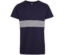 T-shirt 'Stripe Tee' navy / weiß