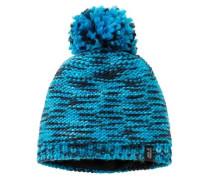 Mütze 'kaleidoscope Knit CAP Kids' aqua / schwarz
