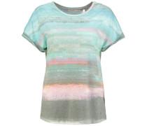 T-Shirt 'open Your Heart' mischfarben