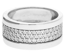 Fingerring 'Pure Pave' silber