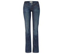 Stretchige Jeans 'Laura' blau