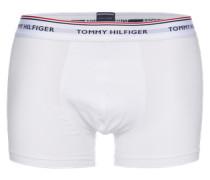 Boxershorts 'Trunk' (3er Pack) weiß