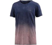 'Mitazi' T-Shirt navy / altrosa