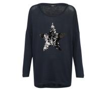 Strickshirt 'melia' dunkelblau