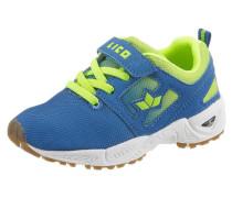 -Sneaker royalblau / neongelb