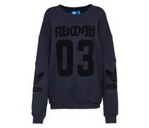 Sweatshirt 'trefoil' dunkelblau