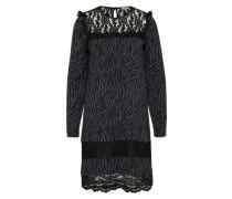 Kleid 'Abito Graceful' grau / schwarz