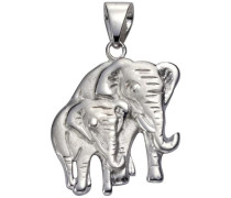 Kettenanhänger »Elefant« silber