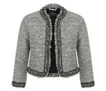 Blazer im Tweed-Look schwarz / weiß