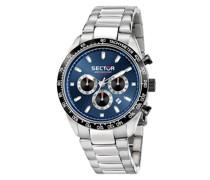 Chronograph '245 45Mm CHR Blue Dial BR SS'