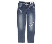 Hose Jeans Boyfriend Style Girls MID Mädchen Kinder blau / dunkelblau