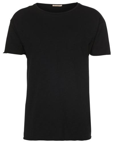 T-Shirt 'Roger Slub' schwarz
