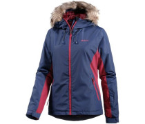 Winter White Snowboardjacke