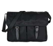 Messenger Bag 'Barcelona' schwarz