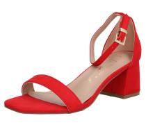 Sandalen 'zaniel' rot