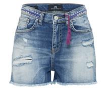 Jeans Short 'layla' blue denim
