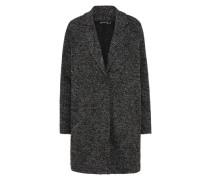 Mantel 'Florentin' graumeliert / schwarz