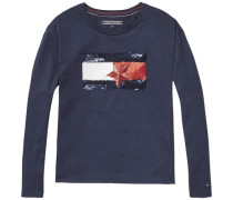 T-Shirt 'ame Girls Embellish CN Knit L/s'