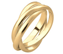 Wickelring gold
