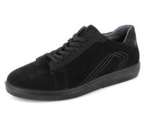 Sneaker Tobi Leder schwarz