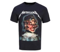 Artwork T-shirt schwarz