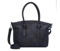 'Ivett 2D' Shopper Tasche 48 cm blau / dunkelblau
