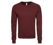 Sweatshirt 'California' rot