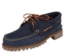Bootsschuhe '3 Eye Classic' navy / braun