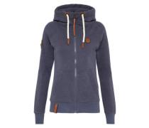 Zippe Jacket 'Dirty Brazzo' taubenblau