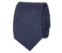 Krawatte ' Brown Label ' dunkelblau