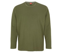 Longsleeve aus Baumwolle hellgrün