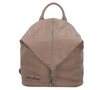 Marit Saddle City Rucksack 35 cm hellbraun