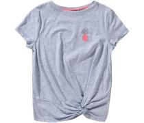 T-Shirt für Mädchen grau