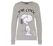 Pullover mit Snoopy Motiv grau / mischfarben