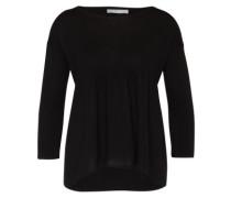 Pullover mit Kaschmir schwarz