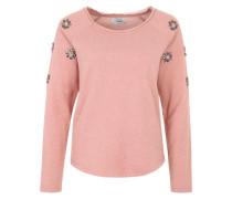 Sweater 'onlFlower' grau