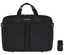 Handtasche 'tommy Computer Bag' schwarz