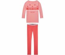 Pyjama Set rot