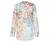 Bluse 'Multi' aqua / mischfarben / pink