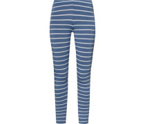 Leggings marine / weiß