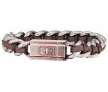 Armband »Schock II Pj26052Bsebr.02-L« braun / silber