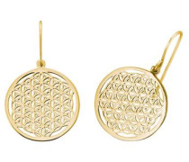 Paar Ohrhaken 'Lebensblume Ere-Lifl-G' gold
