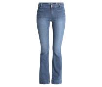 Bootcut Jeans 'Lore Retro' blau