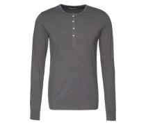 Henley-Shirt grau