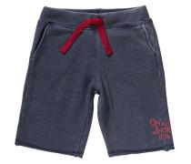 Sweathose dunkelblau / rot