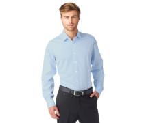Businesshemd 'Level 5' blau