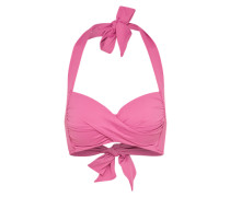 Bikini-Top 'Twist' dunkelpink