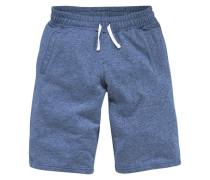 Sweatbermudas für Jungen blau