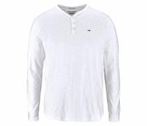 Henleyshirt »CM Henley L/S 10« weiß