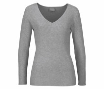 Pullover 'glory Babette' graumeliert